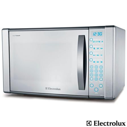 Imagem para Forno Micro-ondas Blue Touch Electrolux com Capacidade de 31 Litros e Grill Inox - MEC41 a partir de Fast Shop