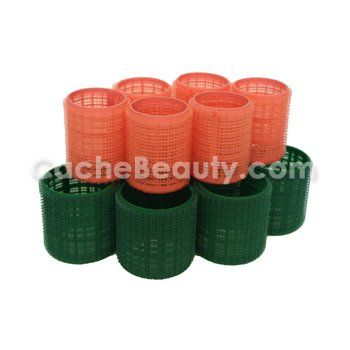 Velcro Hair Rollers 12 Volume Style Rollers 6  175 Salmonpeach Rollers 6  225 Giant Green ** Want to know more, click on the image.