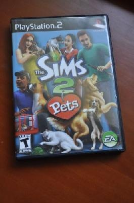 Playstation 2 Game - The Sims 2 Pets