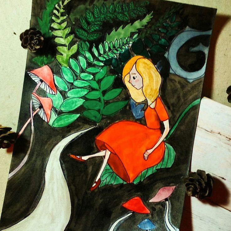 Alice illustration