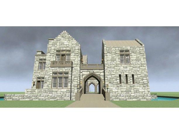 30 best castle plans images on pinterest for Castle plans build