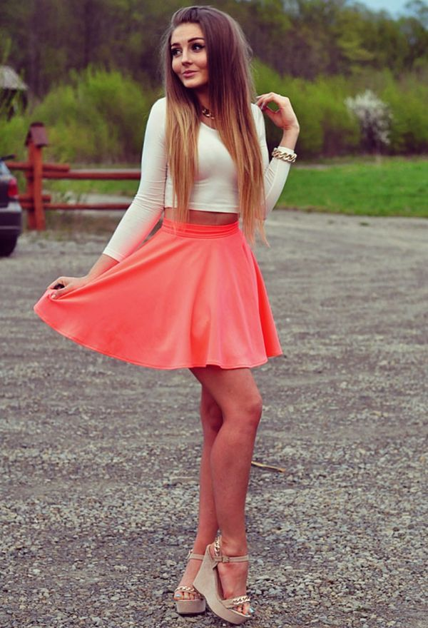 Las 25 mejores ideas sobre faldas cortas de moda en - Modelos de faldas de moda ...