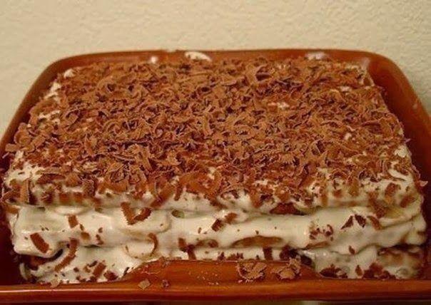 """Для торта из печенья с бананом понадобятся:  2 пачки сахарного печенья (в России это скорее всего """"Юбилейное"""", в Украине - желательно ..."""