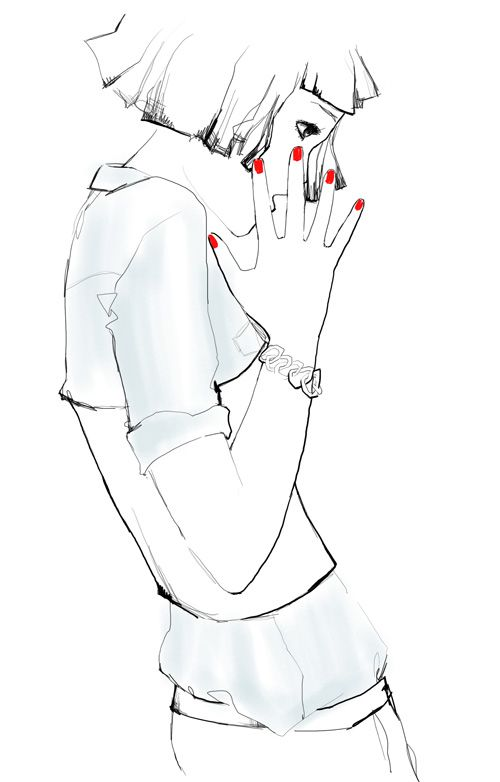Garance Dore. Fashion illustration on Artluxe Designs. #artluxedesigns