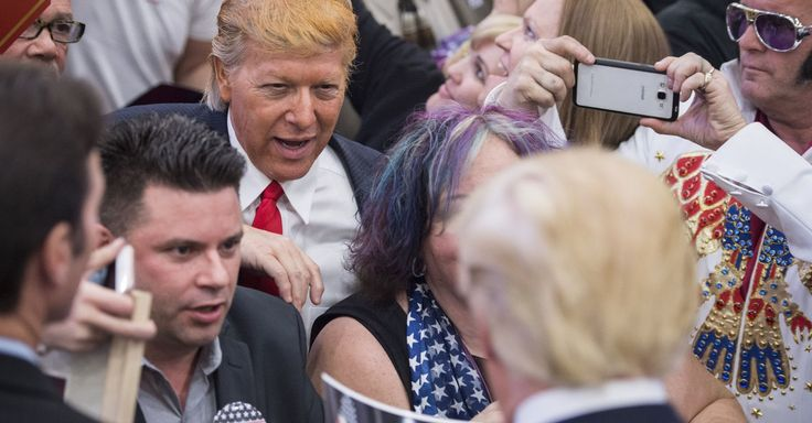 What happens in Vegas: Bizarre photos from the campaign trail