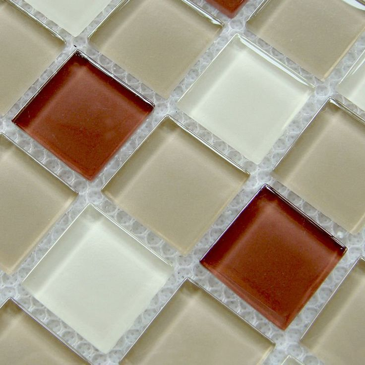 Crystal Glass Mosaic Mirror Sheets Mix Color Kitchen