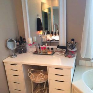 Amusing Ikea Make Up Vanity | ikea makeup organizer, ikea makeup storage, ikea makeup table, ikea makeup vanity sets, ikea makeup vanity storage, ikea makeup vanity tutorial, ikea makeup vanity youtube, makeup desks, makeup vanity table ikea