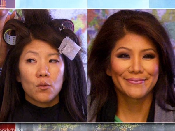 Julie Chen, Tyra Banks and Chrissy Teigen Go Makeup-Free on Air: See Their Transformations http://stylenews.peoplestylewatch.com/2015/09/30/julie-chen-tyra-banks-chrissy-teigen-wear-no-makeup-on-tv/