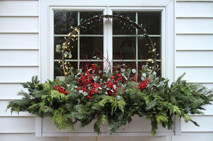89 besten blumenkasten bilder auf pinterest g rten weihnachtsfensterk sten und weihnachten. Black Bedroom Furniture Sets. Home Design Ideas