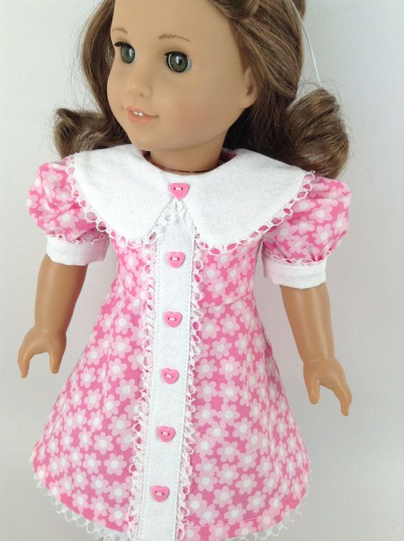 American Girl 18inch Doll Clothes 1930's Pink by HFDollBoutique