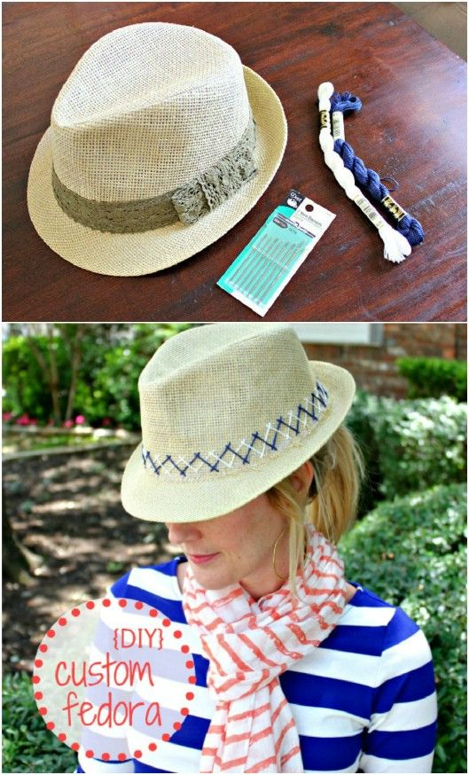3d8a10646 10 Fun DIY Summer Hats That Will Keep You Cool And Fashionable ...