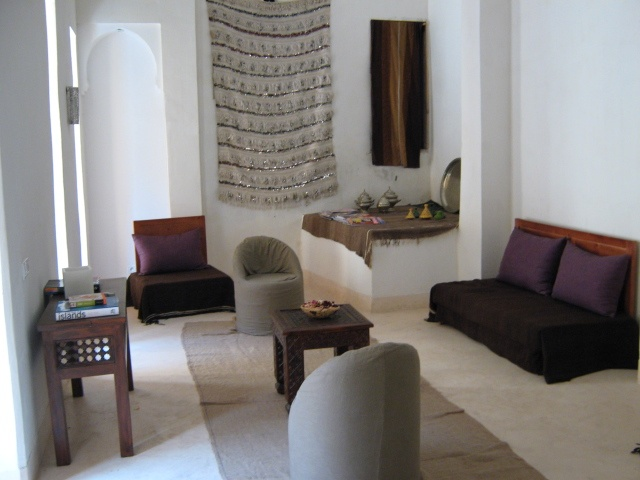 rest room in my riad in Marrakech