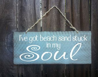 beach decor beach house flip flop sign beach by FarmhouseChicSigns