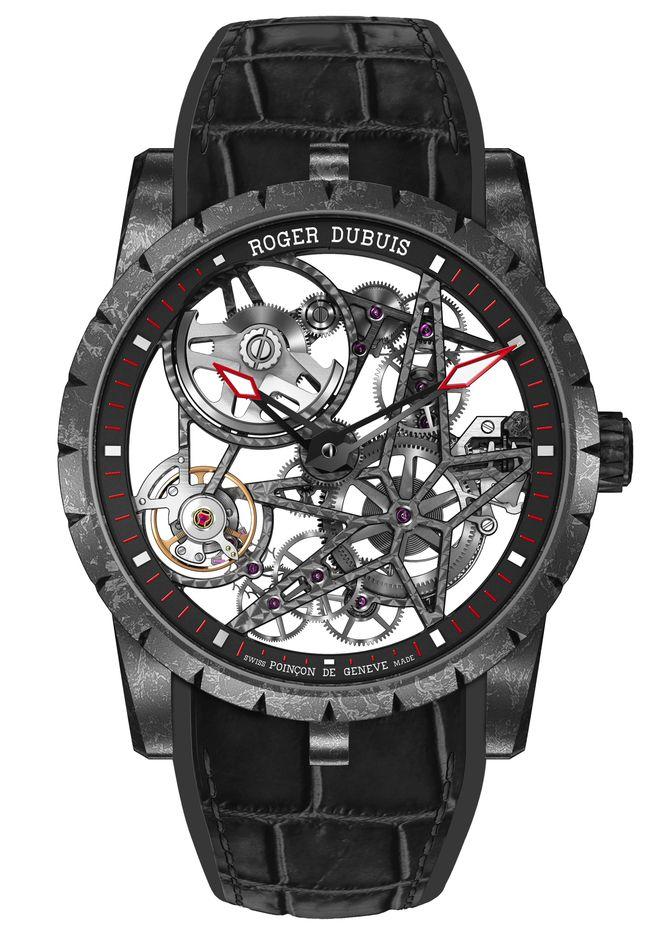 Roger Dubuis Excalibur Automatic Skeleton Carbon - Perpetuelle