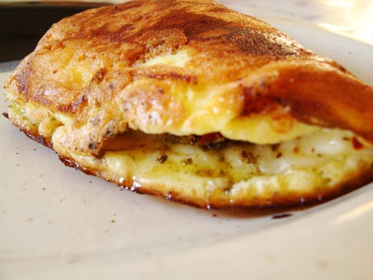 Omelete diferente!
