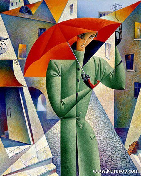 Cubist painting GEORGE Kurasova. Talk to LiveInternet - Russian Service Online Diaries