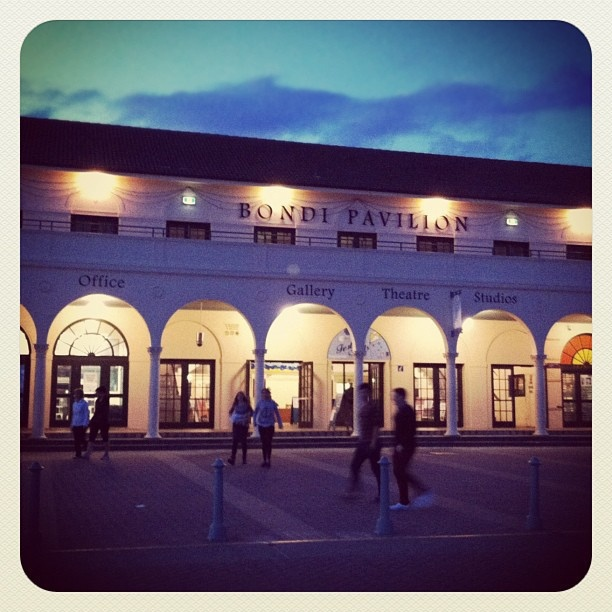 Bondi Dusk #bondi #atbondi #sydney #seeaustralia #pavilion #dusk