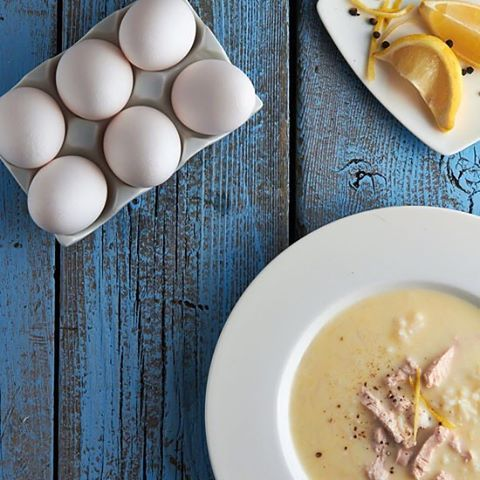 Avgolemono Soup. One of 5 cold- and flu- busting dishes for November's  chilly weather. Link below in comments.