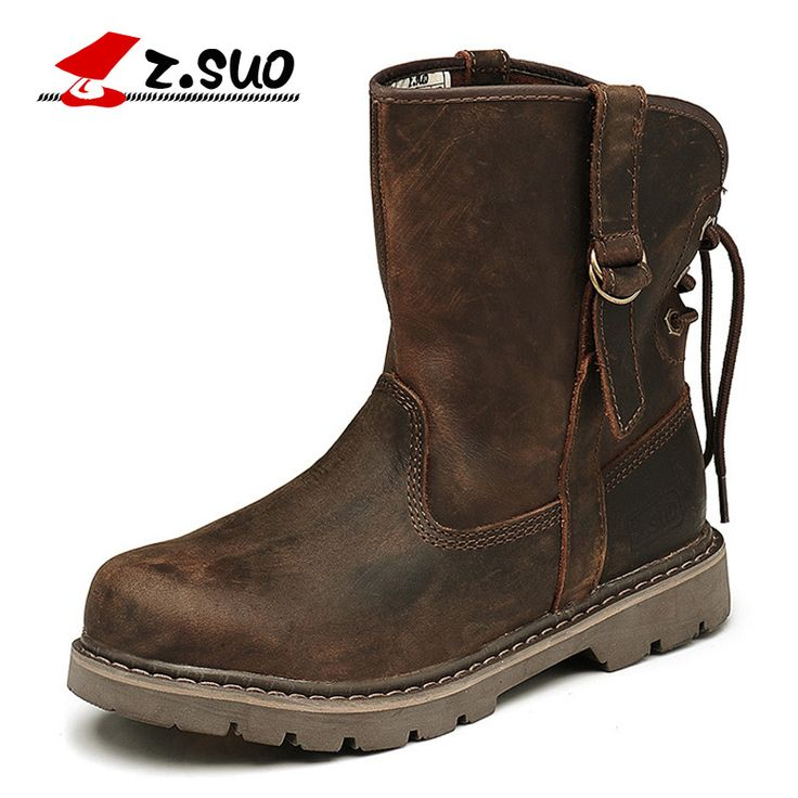 ==> [Free Shipping] Buy Best Genuine Leather Ankle Boots Genuine Leather Men Shoes New Autumn And Winter Boots British Army Boots Lovers' Boots Online with LOWEST Price | 32621093287