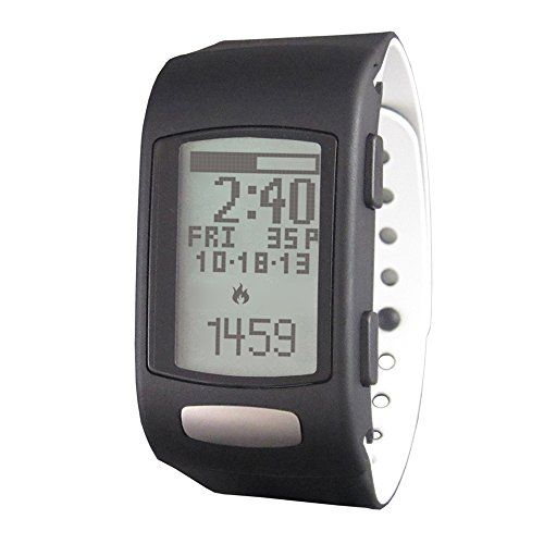 LifeTrak Core C200 24-hour Fitness Tracker, Black/White