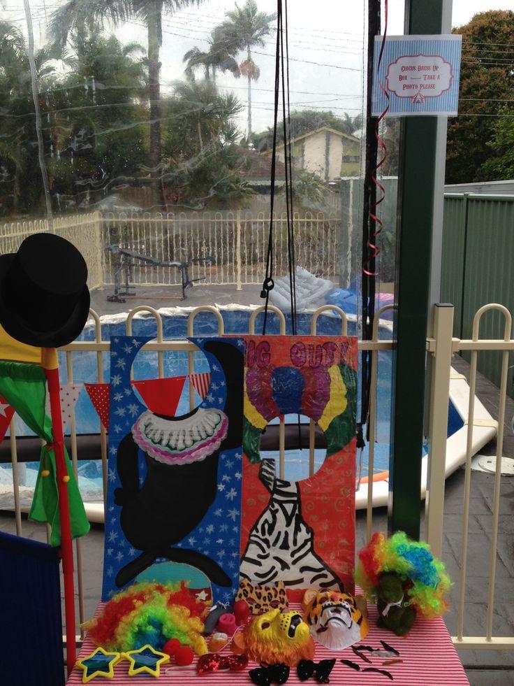 Circus Carnival Photo Props
