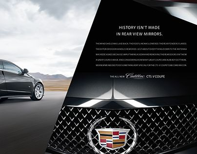 """Check out new work on my @Behance portfolio: """"Cadillac"""" http://on.be.net/1FDmZDJ"""