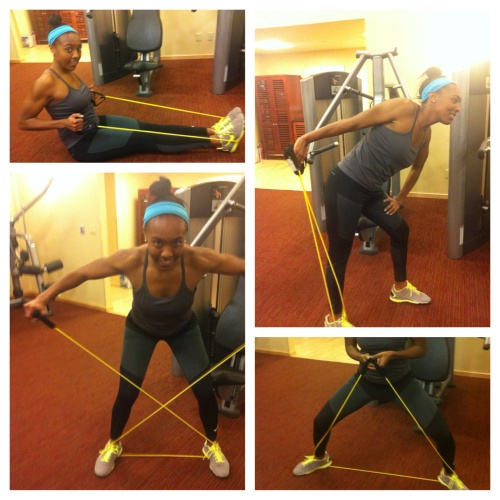 17 Best Images About Resistance Band Workouts On Pinterest