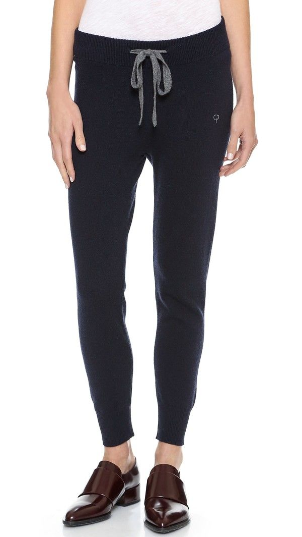 Chinti And Parker Cashmere Sweatpants - Navy ...