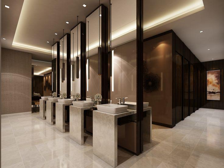 Public Bathroom Design Ideas 43 Best Public Bathroom Design Images On Pinterest  Restroom