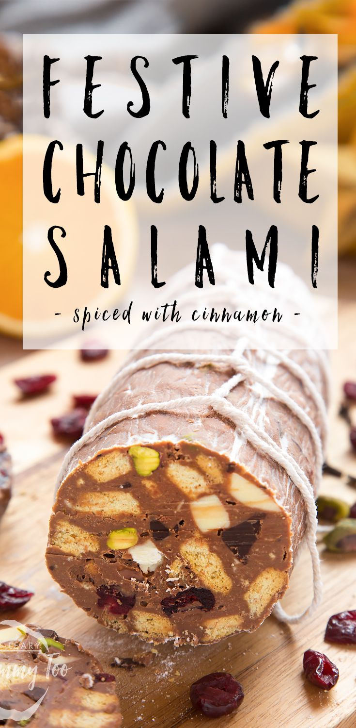 Chocolate salami is something I first discovered at a Christmas market a few years ago, and while it looks really impressive, it's essentially just a fridge cake, formed into a salami shape, with added string for effect. And it really is stunning, isn't it? My version of chocolate salami is extra Christmasy thanks to cranberries,...Read More »