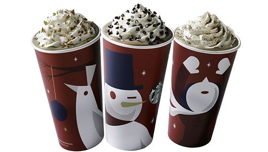 Starbucks Buy One Get One holiday drink FREE!