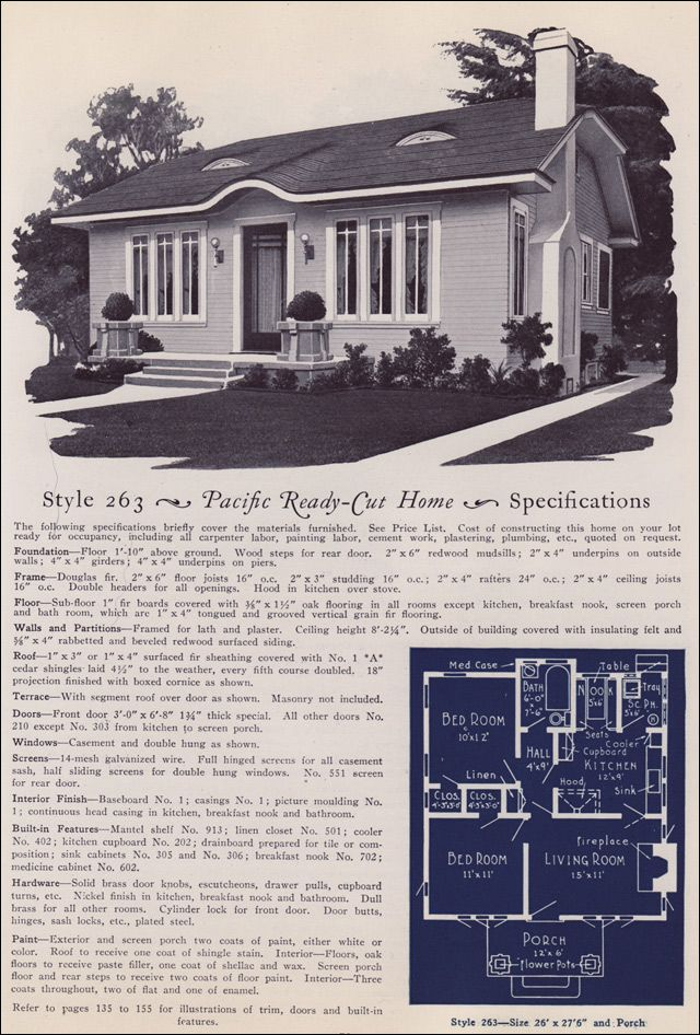 67 best craftsman vintage house plans images on pinterest for Pacific homes kit homes