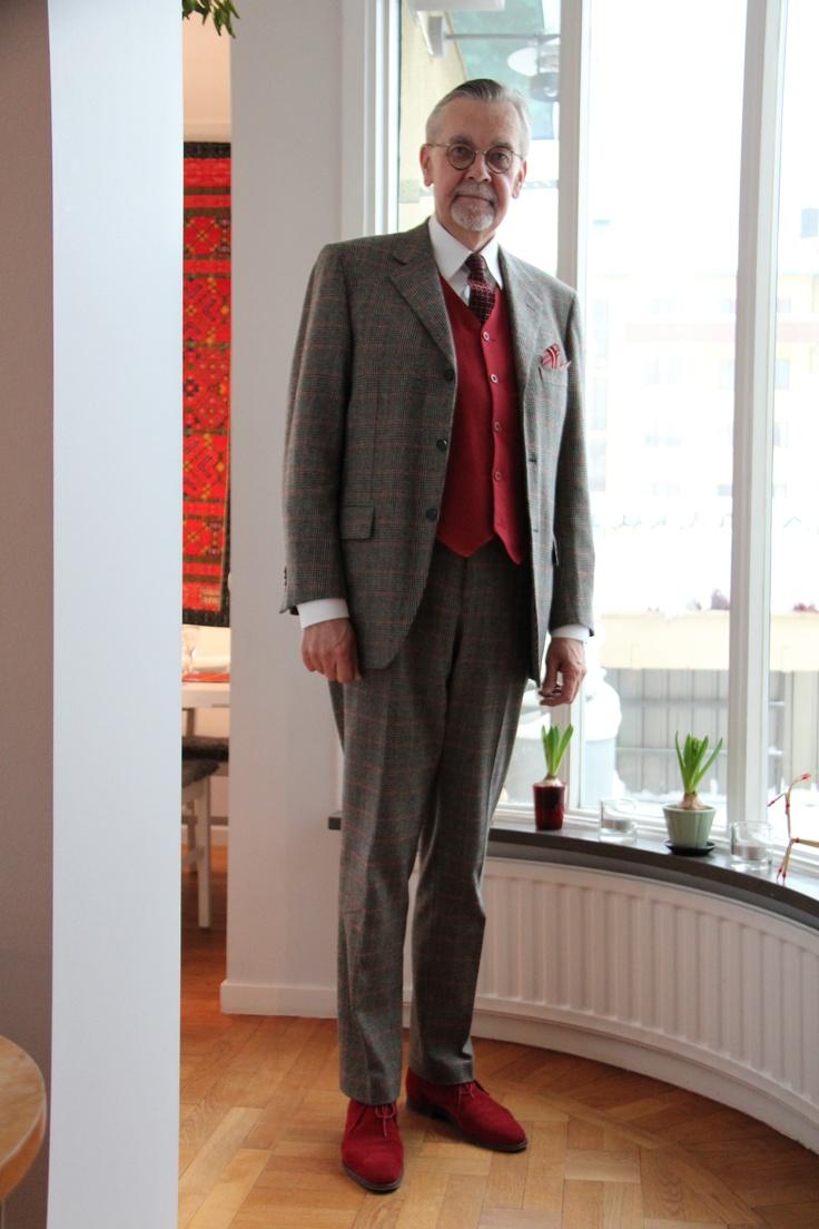 lokal engelsk kostym i Stockholm