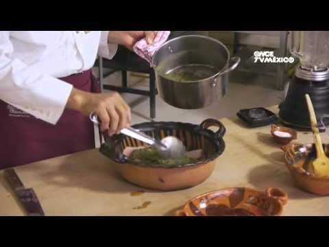 Tu cocina - Pescado con huazontle (23/09/2013) - YouTube