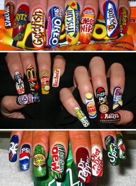445 Best Images About Hideous WTF Nails On Pinterest