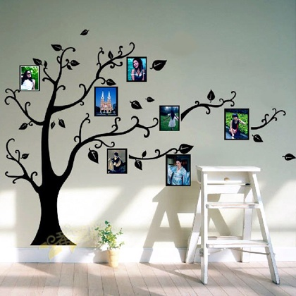 Marvelous NEW Removable Black Tree Wall Sticker For $12.00