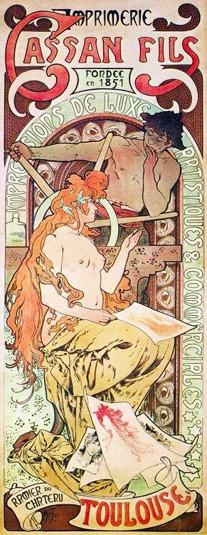 Cassan Fils by Alphonse Mucha, 1896