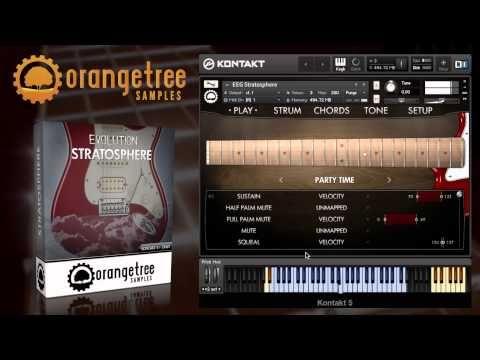 orange tree samples evolution stratosphere fender stratocaster sample player ipad music. Black Bedroom Furniture Sets. Home Design Ideas