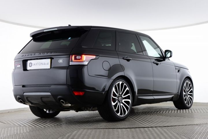 Used Land Rover Range Rover Sport SDV6 HSE Black for sale Essex FJ66OUV | Saxton 4x4