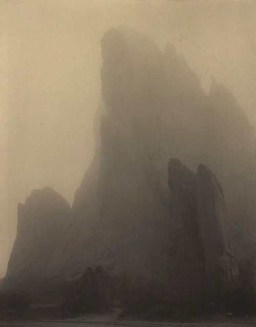 Laura Gilpin- Ghost Rock, Colorado Springs, 1919
