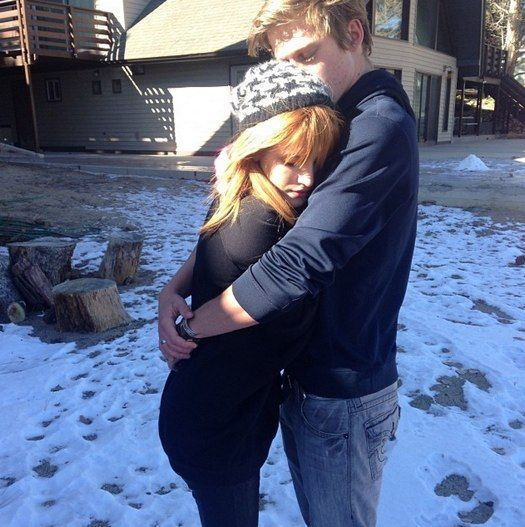 Bella Thorne Enjoying Big Bear With Boyfriend Tristan Klier!
