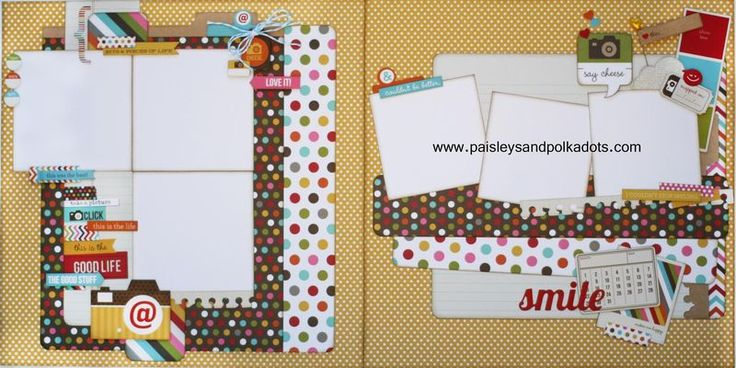 Simple Stories Snap layout (Large) Paisleysandpolkadots  she is so good!