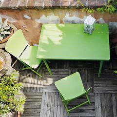 Zic Zac Classic 3 Piece Bistro Set - Color: Lime Green - Sears
