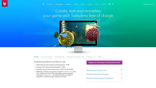 Turbulenz Javascript & HTML5 game engine library and 51 other game js libraries