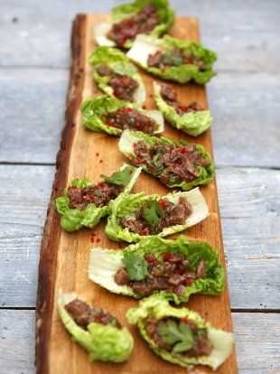 25 best ideas about tuna ceviche on pinterest poke for Canape recipes jamie oliver