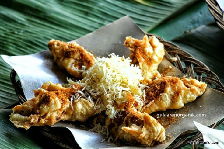 Indonesian acculturation in banana cheese brown sugar