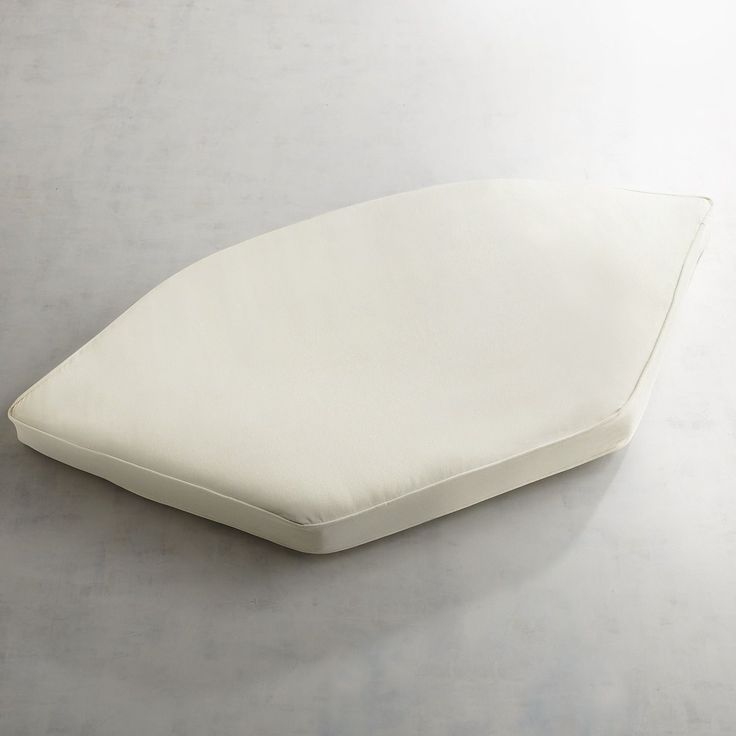 Large Modular Wedge Cushion In Calliope Cream Ivory