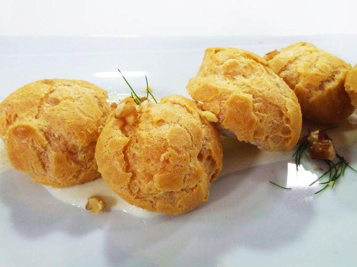 Foto dei bigné farciti allo speck con crema di formaggio