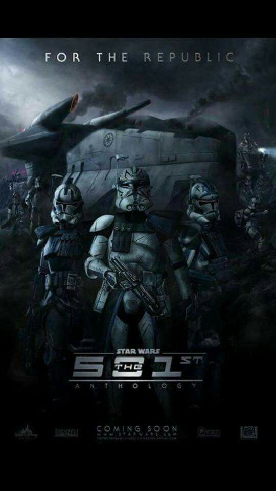 Welcome to the 501st....I wish this movie was really happening. Hopefully someday