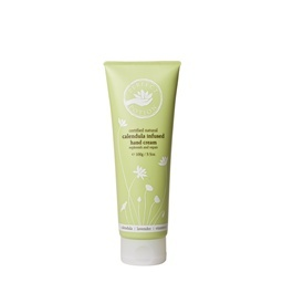 calendula infused hand cream with calendula, lavender and vitamin E. Infuse your hands with this rich, nourishing cream  and put them on the road to recovery.